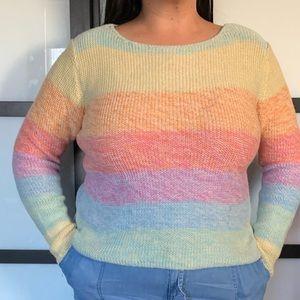 Sweaters - Pastel sweater